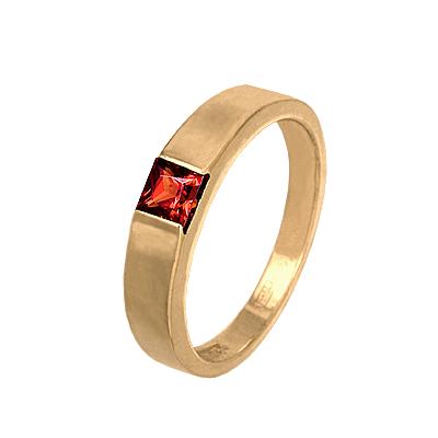 кольцо золотое с гранатом купить