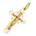 Православный крест с эмалью